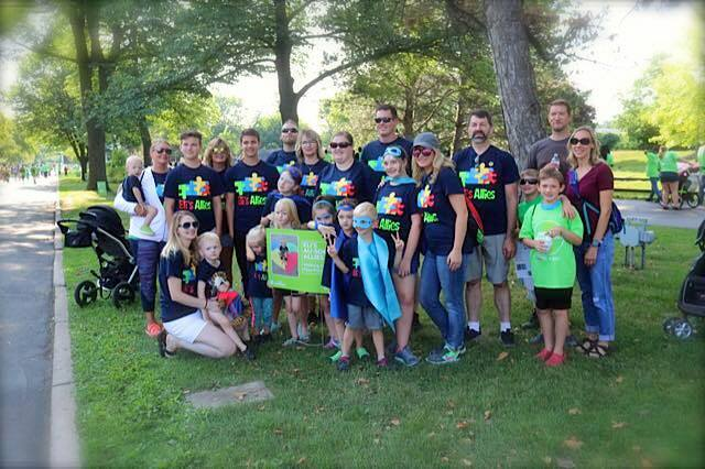 Eli's Au-Some Allies Top the Fundraising Charts at Autism Hero Walk!