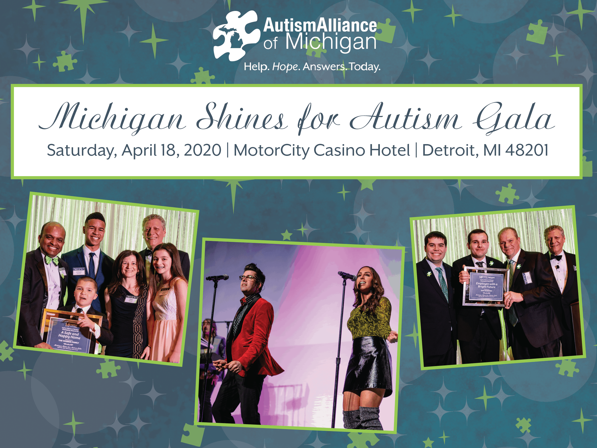 Ann Arbor Events April 2020.2020 Michigan Shines For Autism Gala Autism Alliance Of