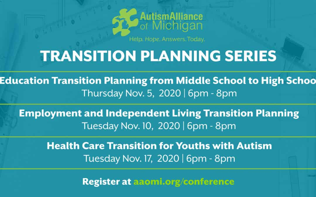 AAoM's Transition Planning Series