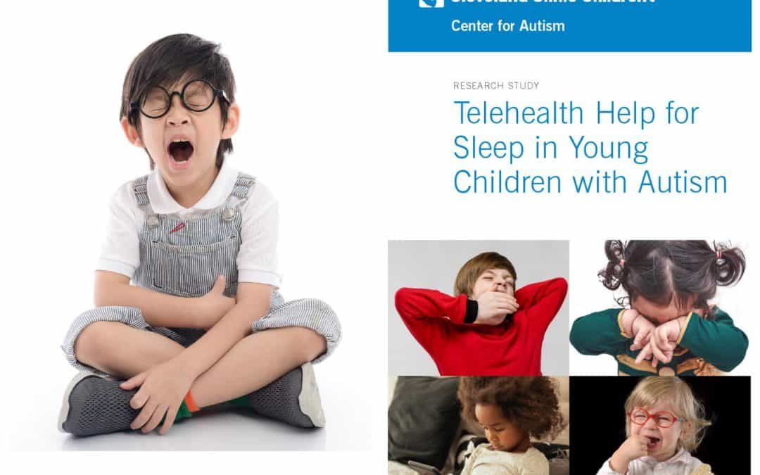 Telehealth resources for children with ASD and sleep problems- Research Opportunity