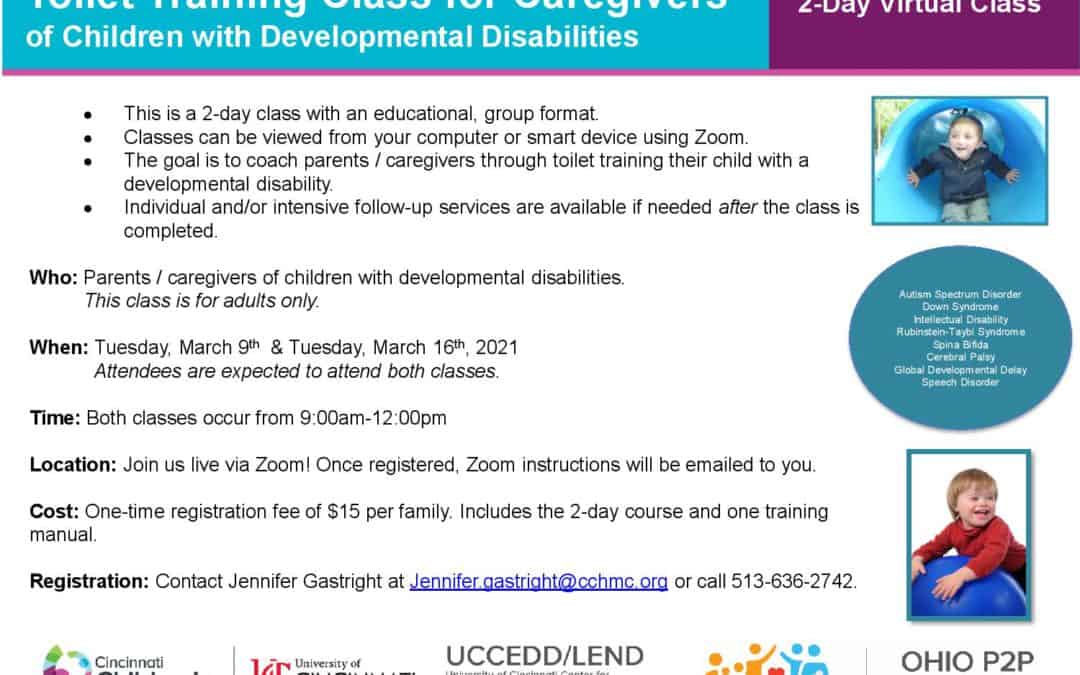 Toilet Training Class for Caregivers of Children with Developmental Disabilities