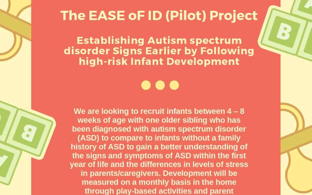 Seeking Infants for Early Detection of ASD