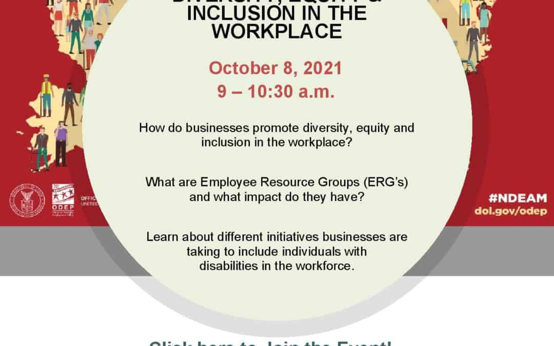 Diversity, Equity & Inclusion in the Workplace
